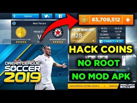 Easy Way To Hack Dream League Soccer 2019 Unlimited Coins Without Lucky Patcher No Root No Mod Apk Dls 19 Hack Game Resources Play Hacks Game Download Free