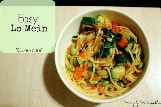 Easy Lo Main Gluten Free