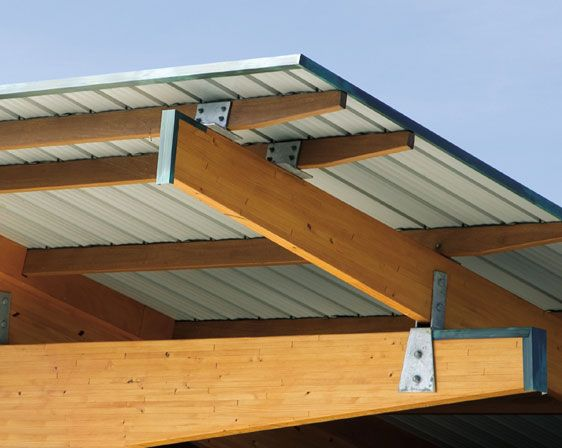 Laminated Wooden Truss ~ Roof detail timber joints pinterest trusses