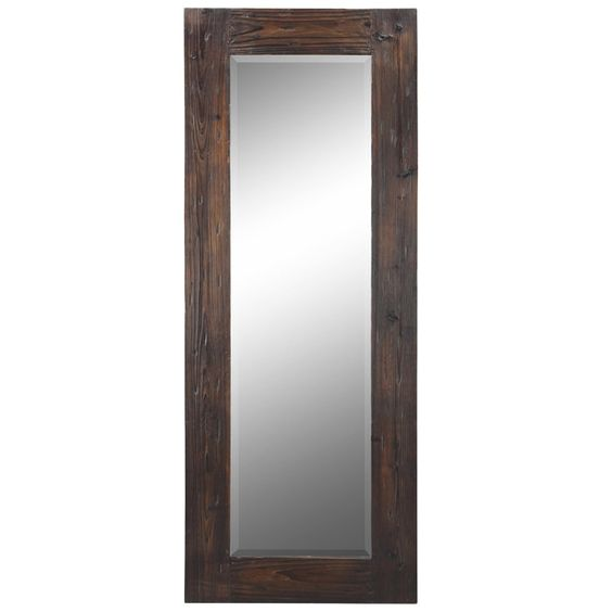 Byron full length wall mirror for bedroom home for Full length bedroom mirror