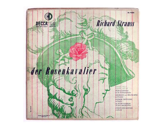 Decca Records - Strauss The Rose Cavalier, Erik Nitsche