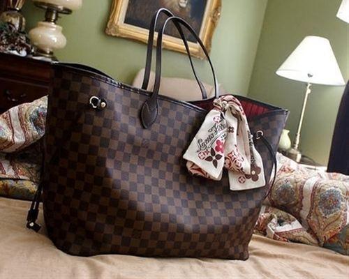 Lv Shopper Bag