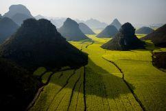 paisajes extraordinarios vistos desde las alturas