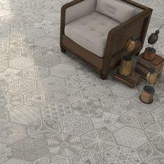 will I get sick of it? for Bath.... Vintage Hexagonal Tiles.