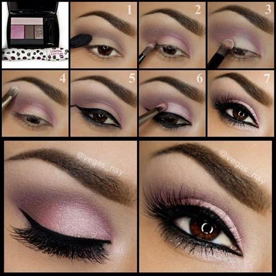 Smokey Eye Makeup Tutorials - Nadyana Magazine