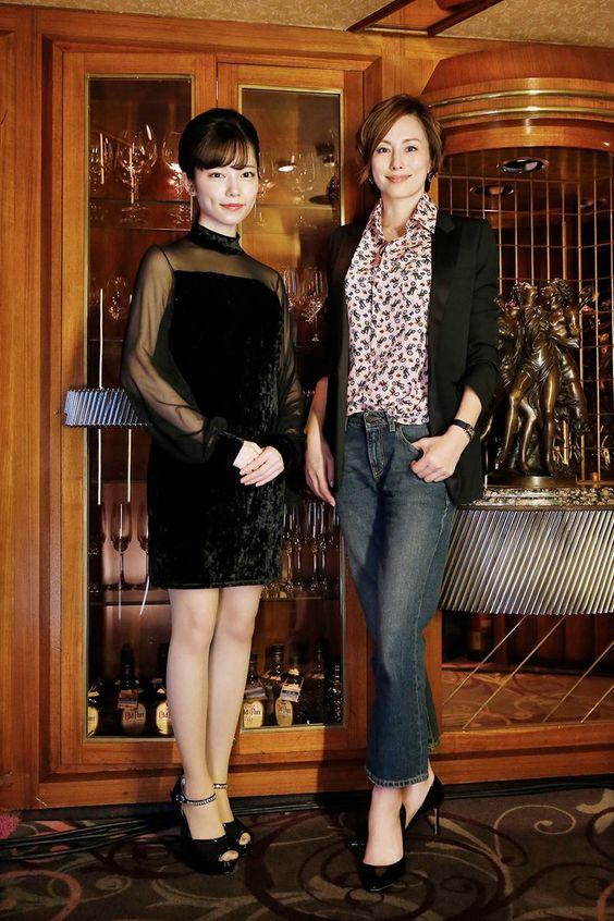 島崎遥香さんと米倉涼子さん