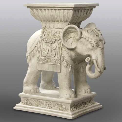 Indian Pedestal Elephant Elephant Statue Elephant Art Sculpture