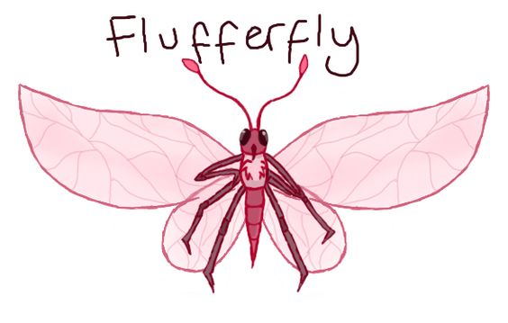University 'Goodie' Insect - Flufferfly