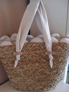 costura canastos decorar bolsos mimbre cesteria capazos decorados cosucas varias bolsones artesanales flor colores cesto playero bisuteria papel