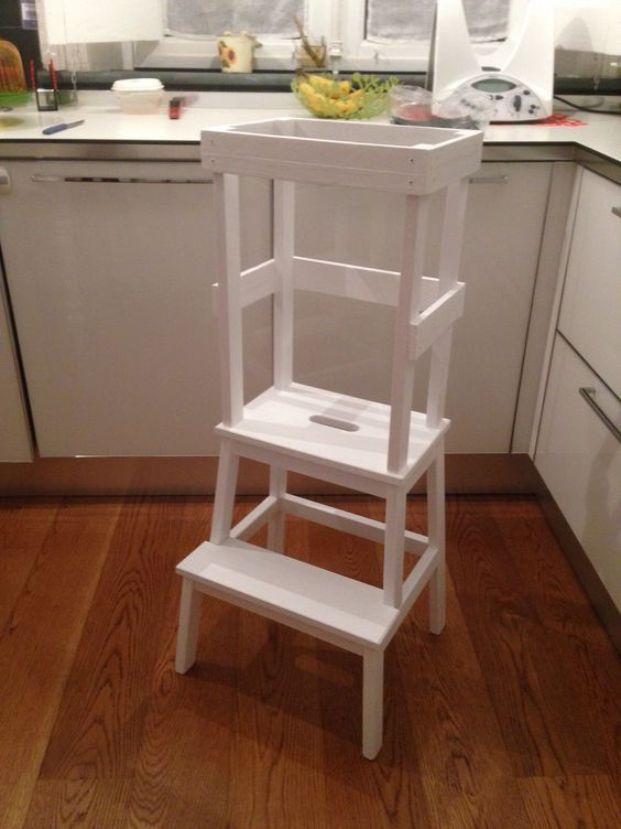 Learning tower torre d 39 apprendimento per bambini for Sgabelli ikea