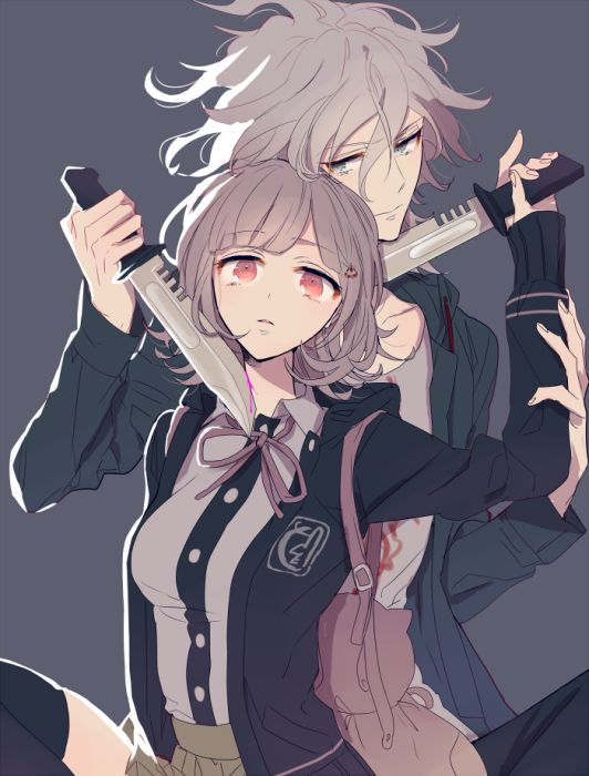 Komaeda Nagito Nanami Chiaki / These two are adorable. Ship or not, they're some of my favorites.