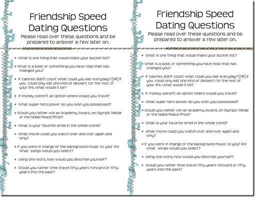 Esl speed dating activity