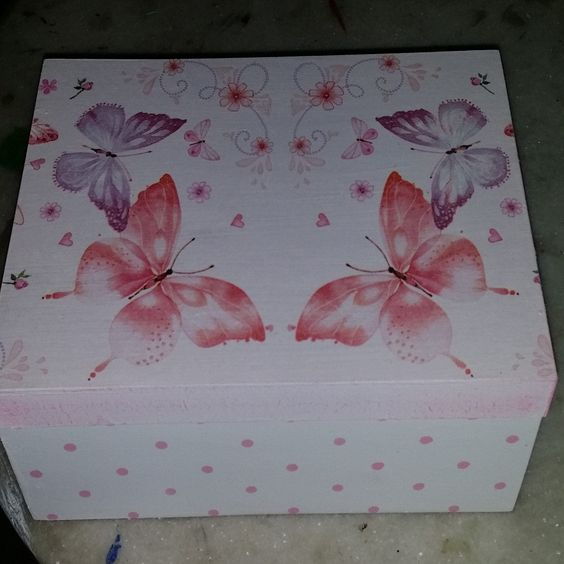 caixa decorada | Brasinha artesanato | Elo7
