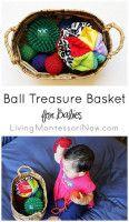 Ball Treasure Basket for Babies