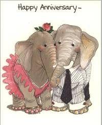 Suzy's Zoo Christmas   Elephant Motif GREETING CARD Examples at Elefunteria