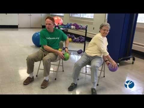 Core Fitness Chair Pilates Workout Abdominal Exercise For Seniors Chair Exercise Youtube Senior Fitness Wednesday Workout Ball Exercises