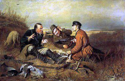 O Homem, produto de si próprio: 1792. Pintores russos - Vassili Perov - 2