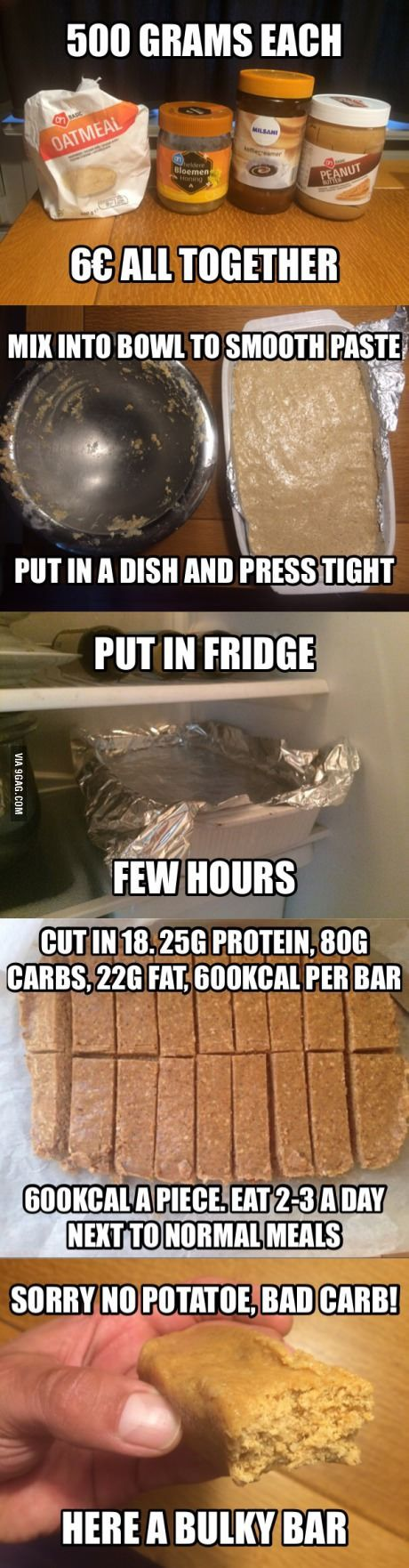 To all whining 'I can't gain weight' 9gaggers: thank me later.