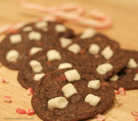 Peppermint Hot Chocolate Cookies {and 50+ Homemade Holiday Sweet Treats} « Mom Endeavors