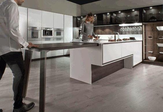 12 ideas para hacer mas c modo el trabajo en la cocina - Ideas para decorar la cocina ...