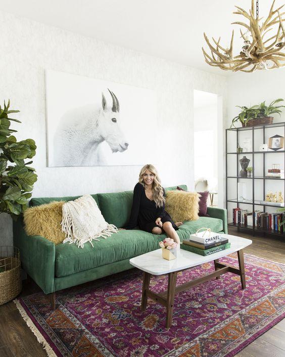 Joss & Main x Cara Loren. Shop her stylish home office!