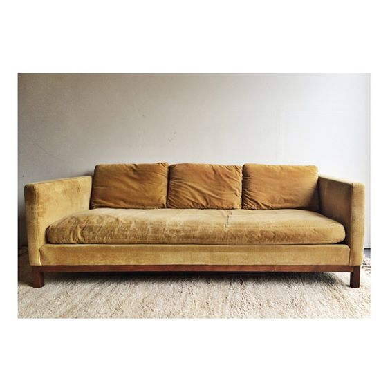 Free shipping on this vintage MCM Thayer Coggin sofa by Milo Baughman