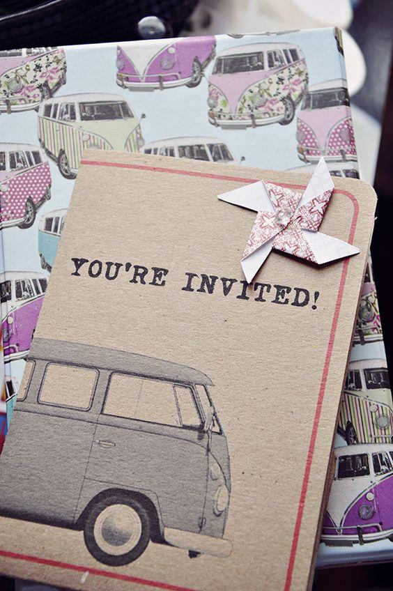 vw wedding invites the big party pinterest toms