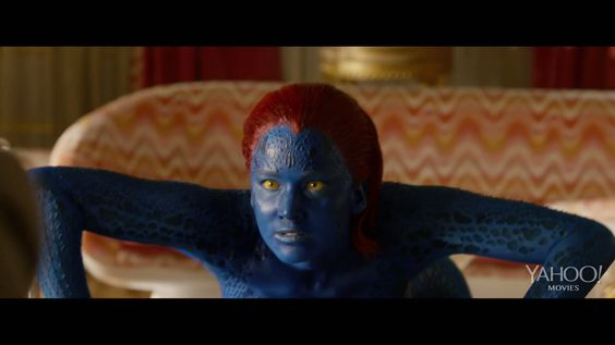 """#JenniferLawrence in #XMEN: DAYS OF FUTURE PAST - Official """"Collateral Damage"""" Movie Clip #2 ..."""