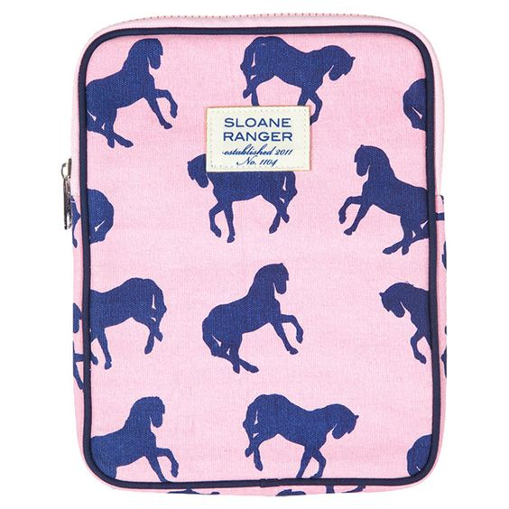 Horses Tablet Case - by Sloane Ranger. This is adorable!