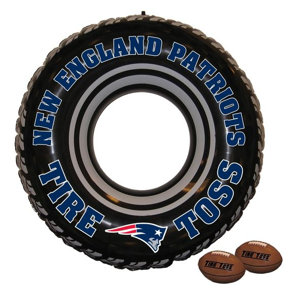New England Patriots Tire Toss Game