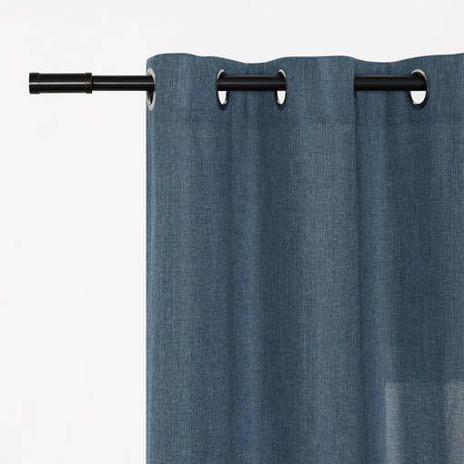 Audra Panel 96 Storm Sheer Curtains Subtle Textures Storm Images