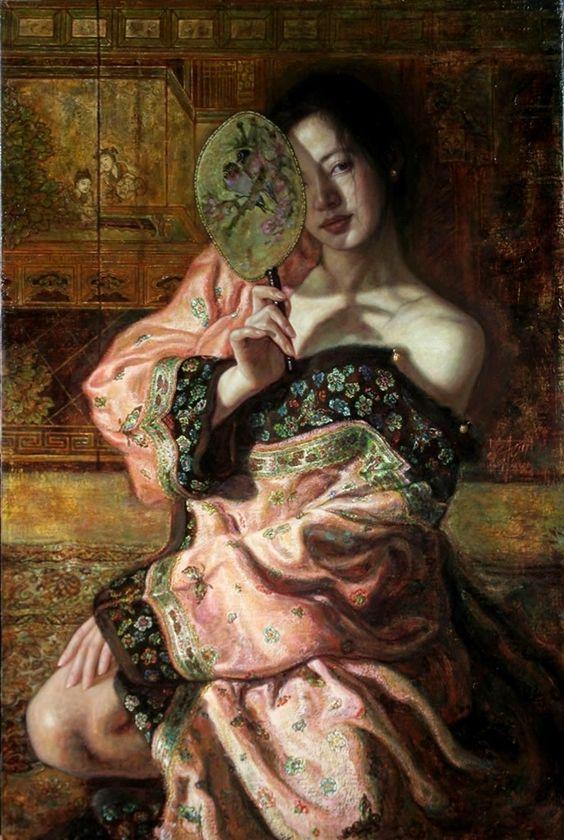 George Tsui: Art George Tsui, Oriental Paintings, Tsui Chinese, Oriental Art, Asian Art, Oriental Art, Art Portraits
