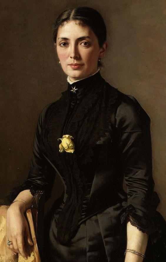 Portrait of a Lady by Karl Rudolph Sohn