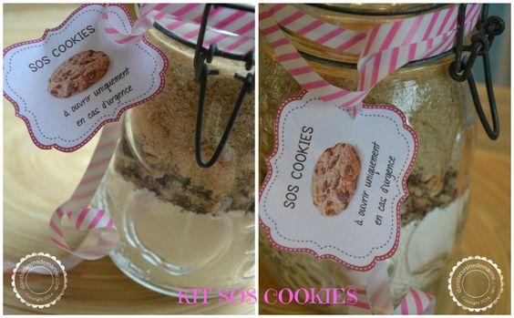"""Kit """"SOS cookies"""" : le kit de survie gourmand"""