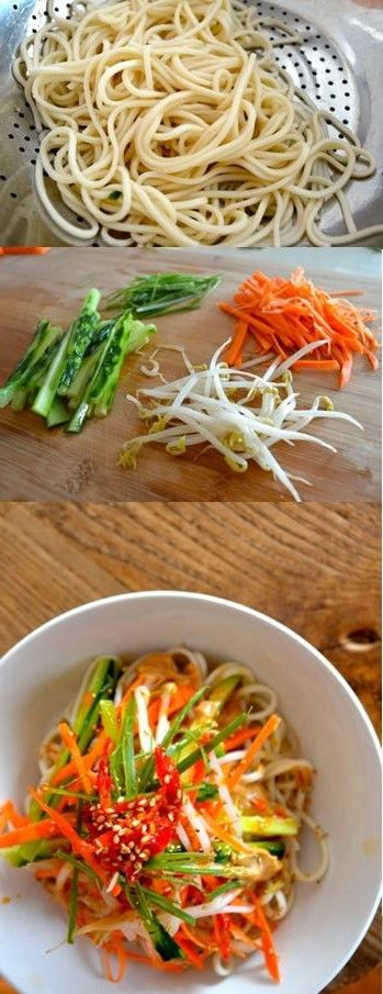 Cold sesame noodles | Recipe | Cold sesame noodles, Sesame noodles and ...
