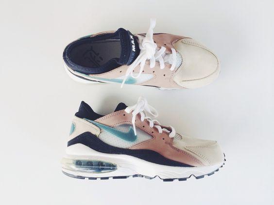 Nike Mode air max 1 vntg, Bleu, 38.5