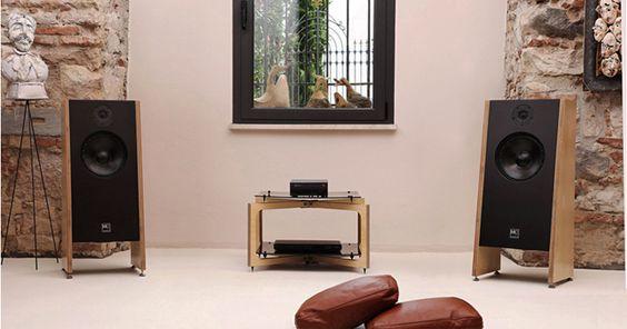 Mkstudio audio design casse acustiche architettura frontale referenz system 1 mod audio gear - Casse acustiche design ...