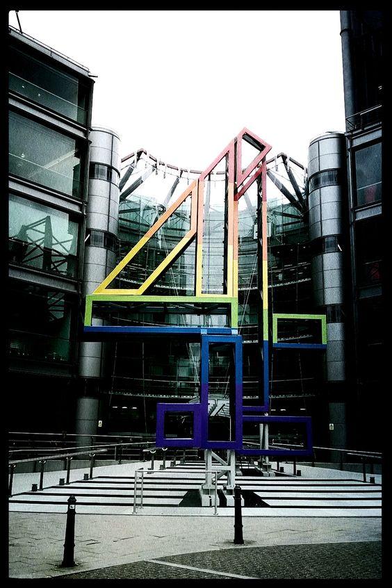 Channel 4 Studios London #channel4 #tv #london #crm #studio