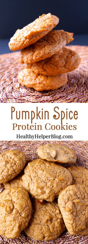 ... pumpkins spices protein healthy cookies pumpkin spice protein cookies