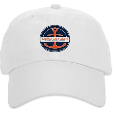 This hat helps raise money for #NJ nonprofits AND would make a great gift for the fisherman or beach jogger. Hat - RestoreOurShore.com