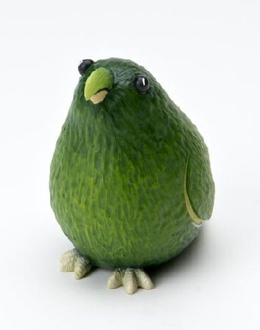 Home Grown Veggie Animal Figurine - Avocado Parrot:
