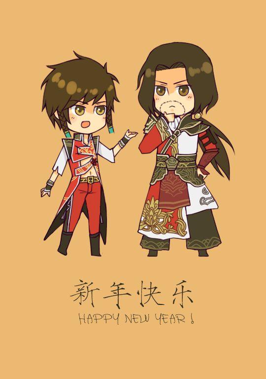 無題, lü meng,  pixiv,dynasty warriors, shin sangoku musou,