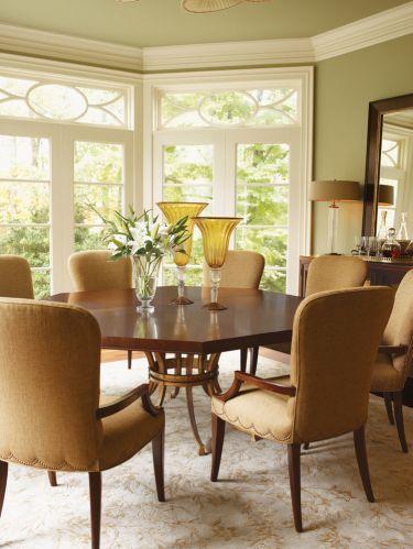9-pc St. Tropez Regis Octagonal Dining Table Set, Lexington, St. Tropez