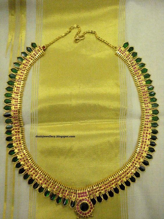 kerala jewellery designs - | Treasures | Pinterest ...