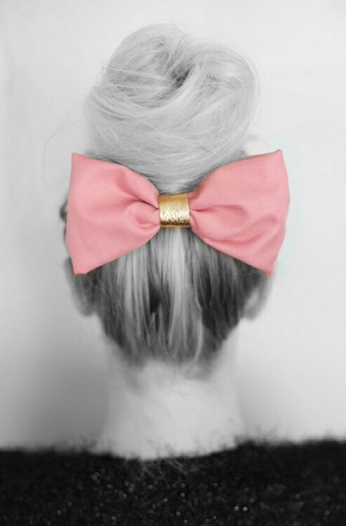 Pink Bow ;* ♥