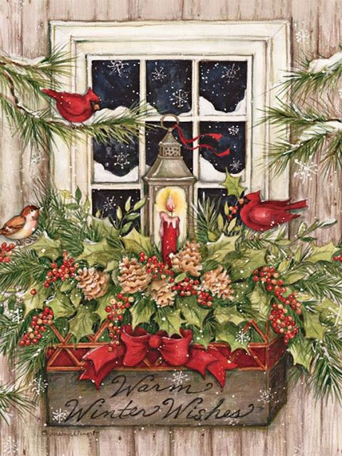 Milioni di immagini da scaricare. Susan Winget Immagini Di Natale Biglietti Di Natale Vintage Cartoline Di Natale