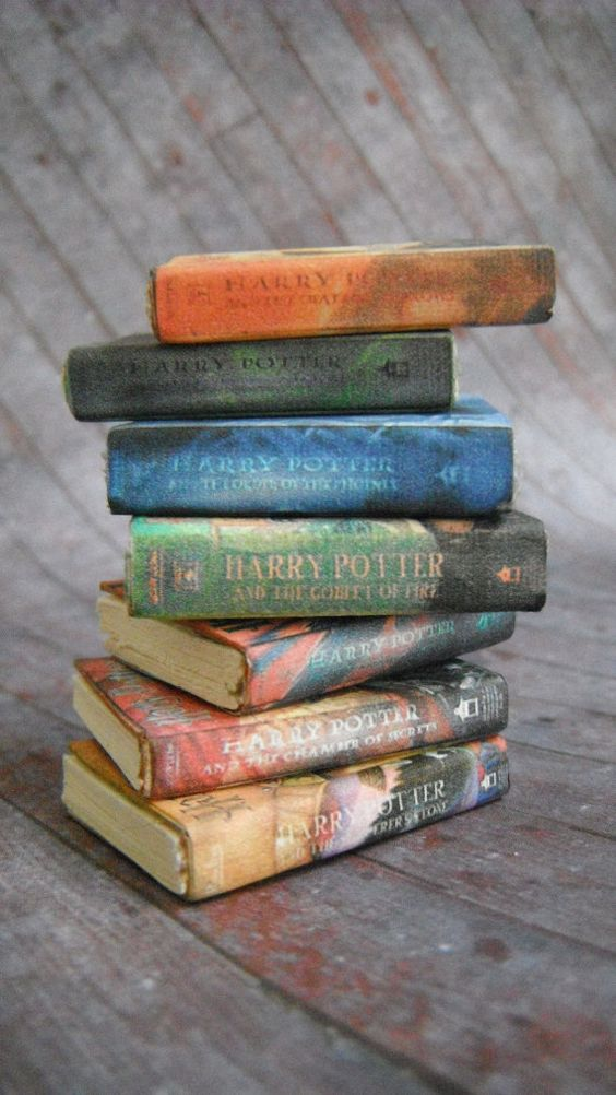 Miniature Books  Harry Potter by LDelaney on Etsy,