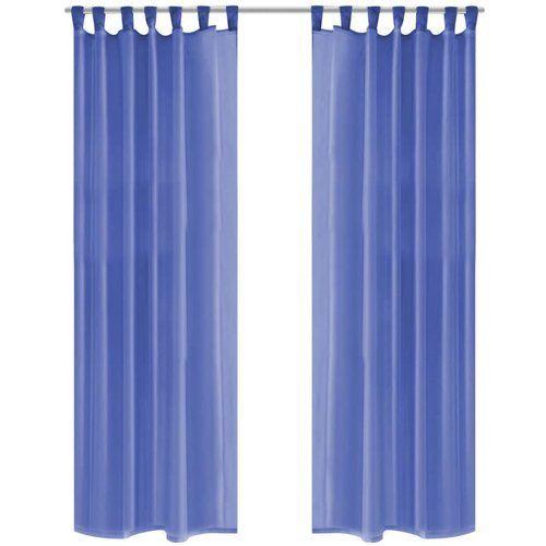Babylon Semi Sheer Curtains Charlton Home Size Width 140cm X Drop 175cm Colour Royal Blue Gardinen Gardinen Set Vorhange Gardinen