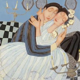 Blog of an Art Admirer: Cecile Veilhan and Her Women: