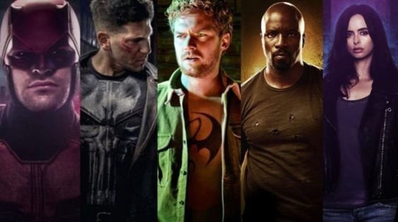 Marvel's shows on Netflix